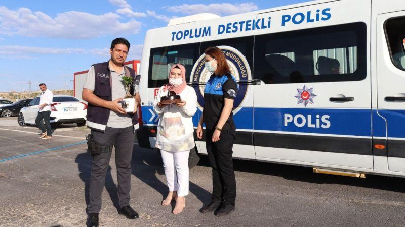 Polislerin babalar günü kutlandı