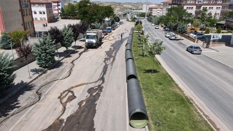 Nevşehir modern altyapıya kavuşuyor