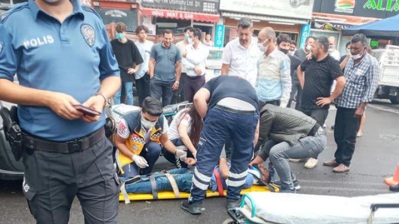 Gülşehir'de yürekleri ağıza getiren kaza!