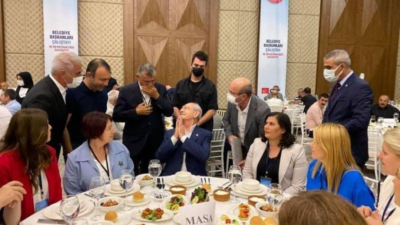 CHP'li Belediye Başkanları çalıştaya katıldı