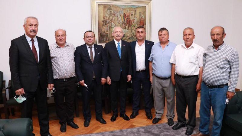 Kılıçdaroğlu Nevşehir heyetini ağırladı