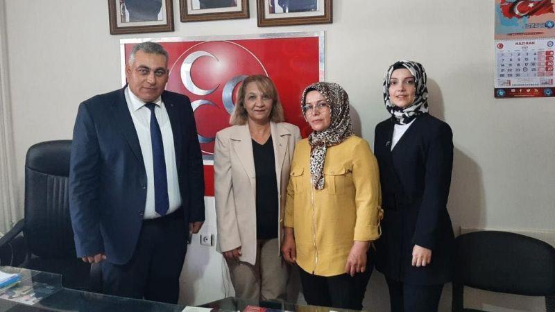 MHP'ye kadın başkan yardımcısı
