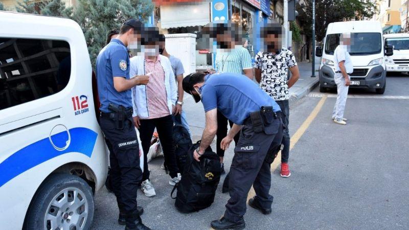 Huzurlu sokaklar denetimi yapıldı