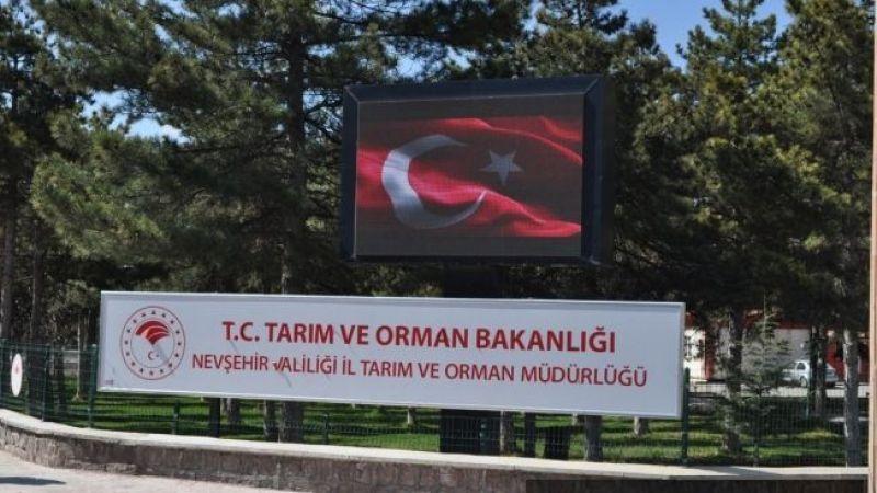 Nevşehir Tarım ve Orman Müdürlüğü uyardı!