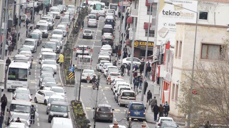 Nevşehir'in son araç sayısı açıklandı