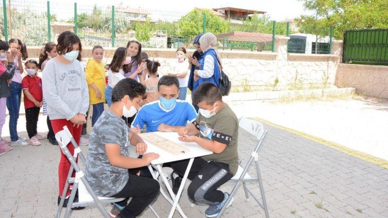 Öğrenciler doyasıya eğlendi