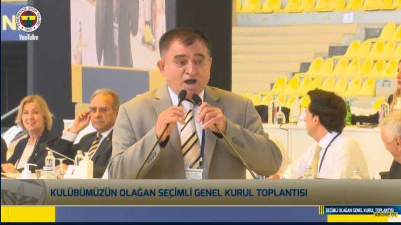 Nevşehirli Muhtar Fenerbahçe kongresini karıştırdı