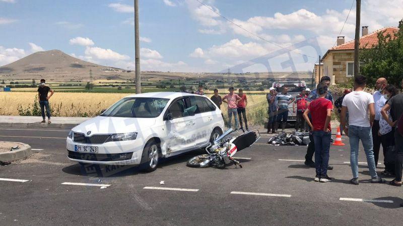 Feci kazada 17 yaşında ki genç vefat etti
