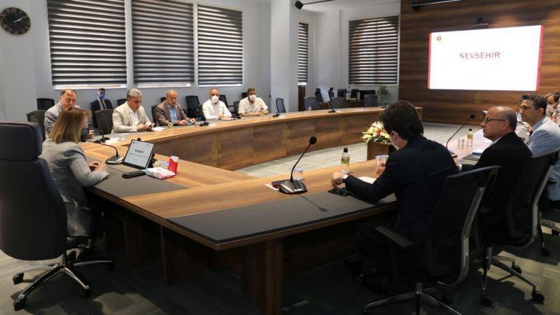 TDİOSB istişare toplantısı gerçekleştirildi
