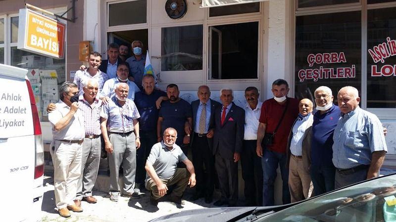 İYİ Parti'nin Hacıbektaş hizmet binası açıldı