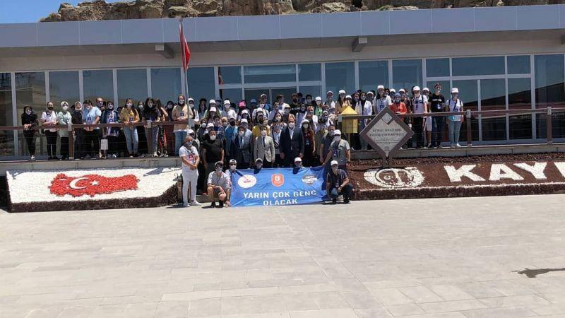 7 İl'den gelen öğrenciler Kapadokya'da