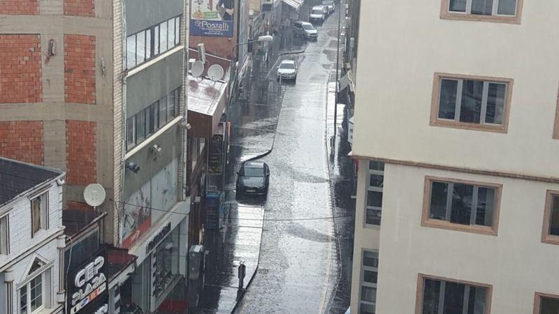 Nevşehir'de sağanak yağış etkili oluyor