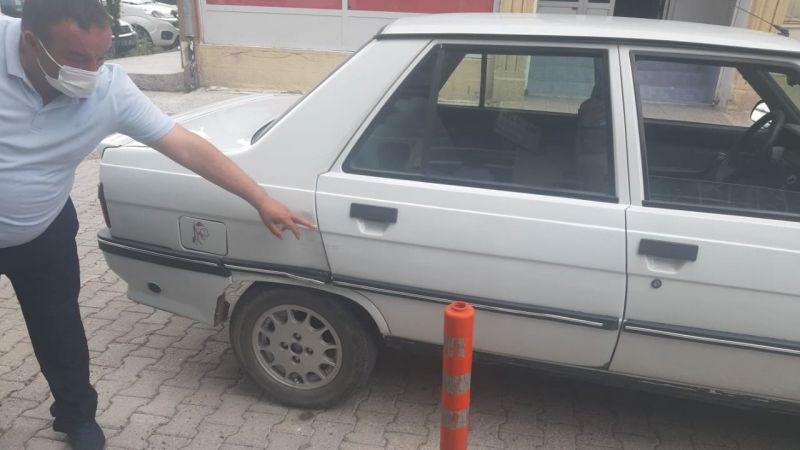 Kastamonulu ailenin aracına çarpıp kaçtılar