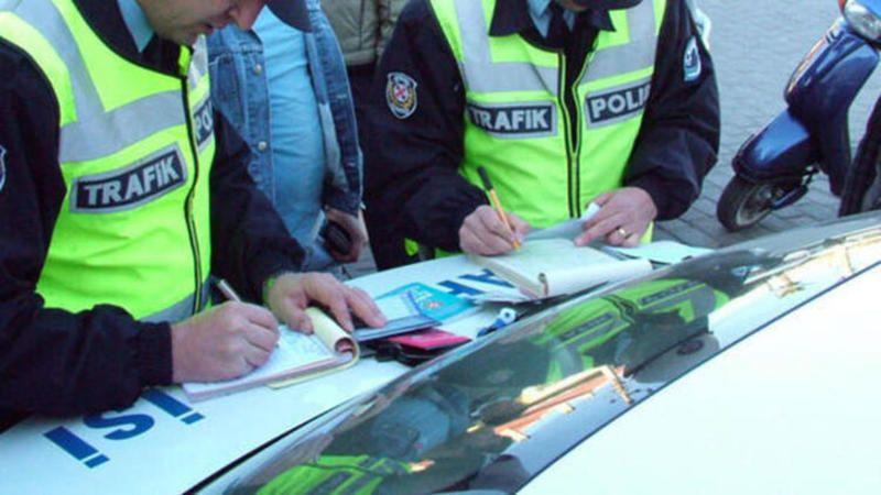 Kural ihlali yapan 481 araca ceza