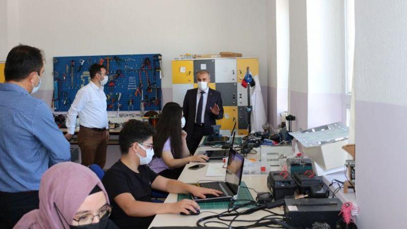 Nevşehir'de destekleme yaz kursları sürüyor