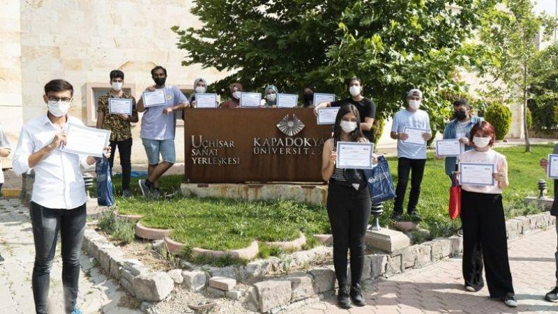 Kapadokya Üniversitesi, Amerikan mutfağı eğitimi verdi