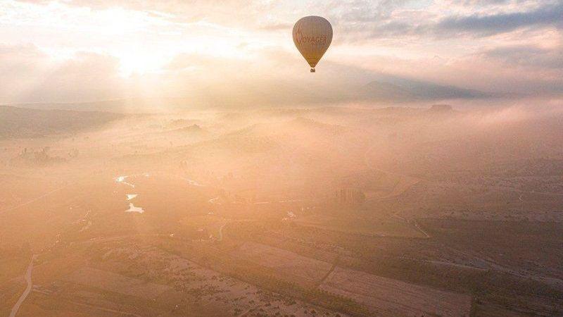 Ege'de Kapadokya ortamı yaşandı