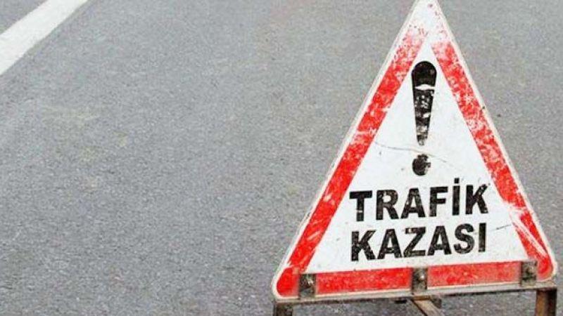 Trafik kazası: 10 yaralı