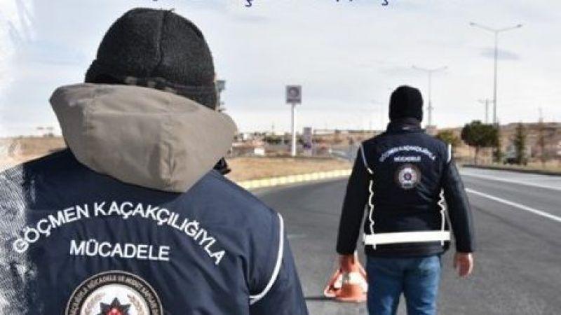 İllegal yolla Nevşehir'e gelen Afganlılar sınır dışı edildi