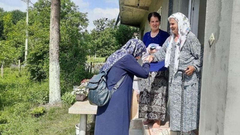 İHH Nevşehir ekibi Srebrenitsa'da