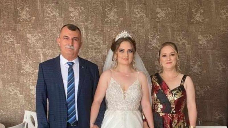 Kubilay Özdil'in kızı dünya evine girdi