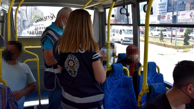 Nevşehir polisi huzur operasyonu yaptı