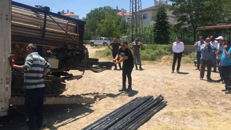 Gülşehir TOKİ'ye doğalgaz  müjdesi!
