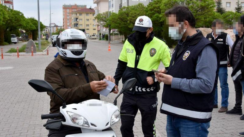 Nevşehir'de motosikletler denetlendi