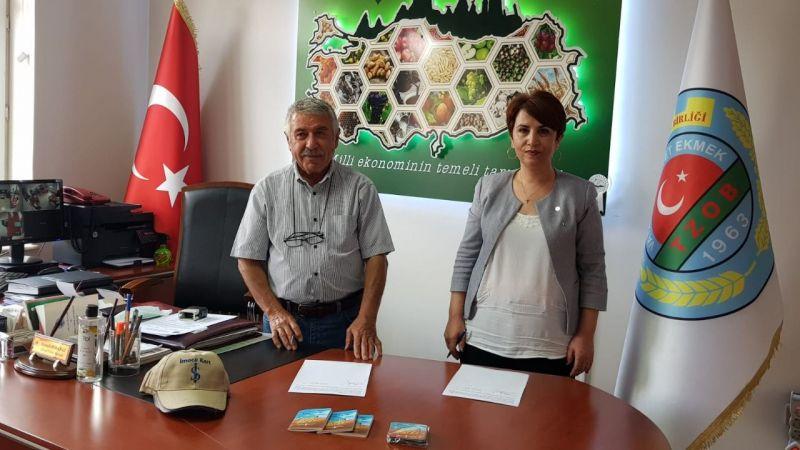 Ürgüp Ziraat Odası ile İş Bankası anlaşma imzaladı