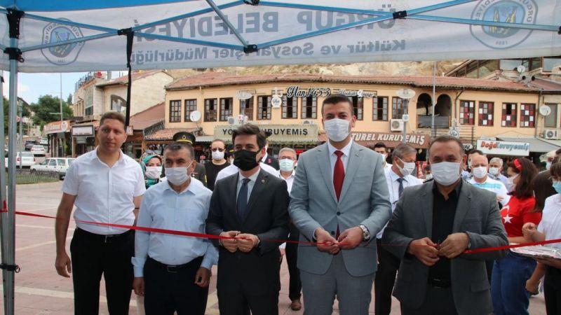 Cumhuriyet Meydanı'nda 15 Temmuz sergisi açıldı