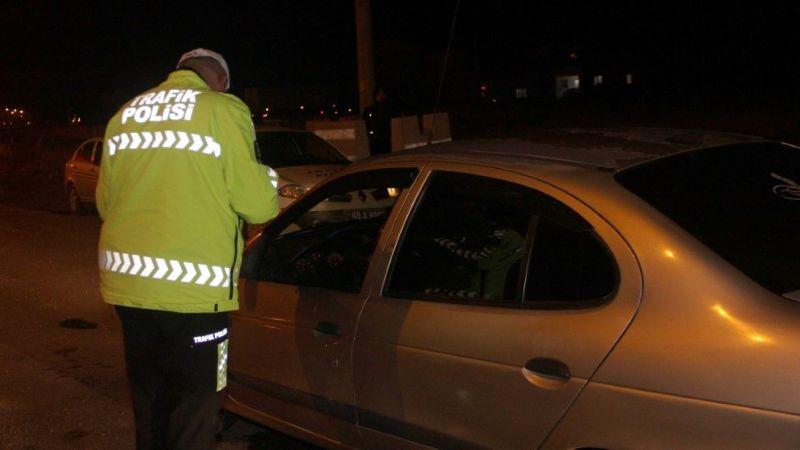 Sürücülere alkol denetimi yapıldı