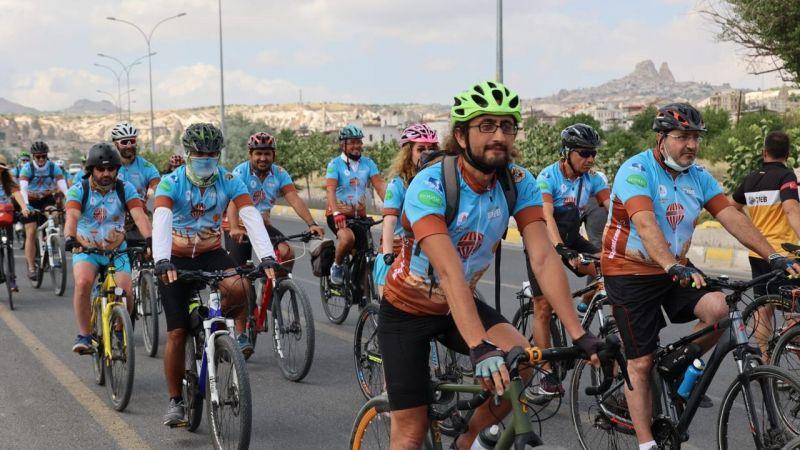 180 sporcu Kapadokya'da pedal çevirecek