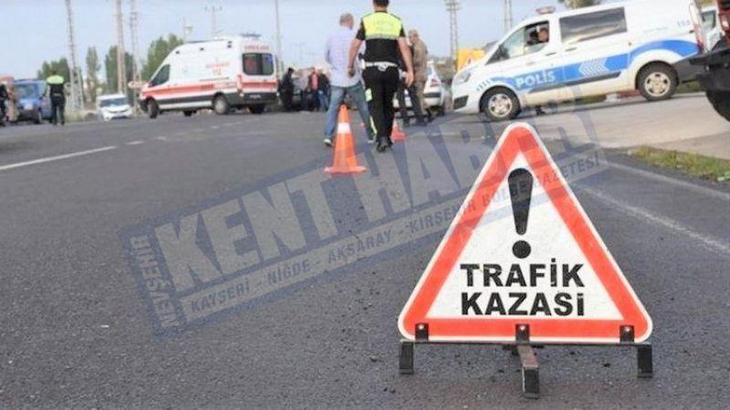 Yeni Sanayi'de trafik kazası