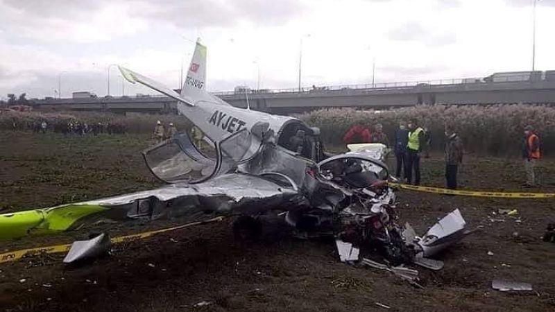 'Uçak düştü' paylaşımı ortalığı karıştırdı