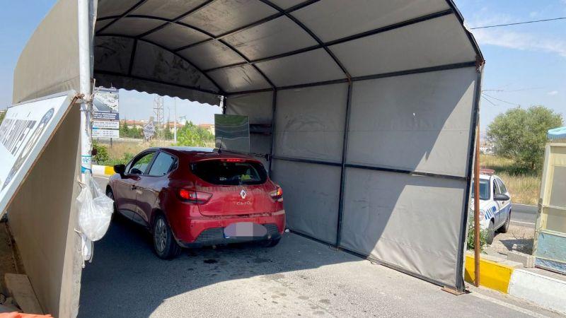 Sürücüler yaşam tünelinde kısa mola veriyor