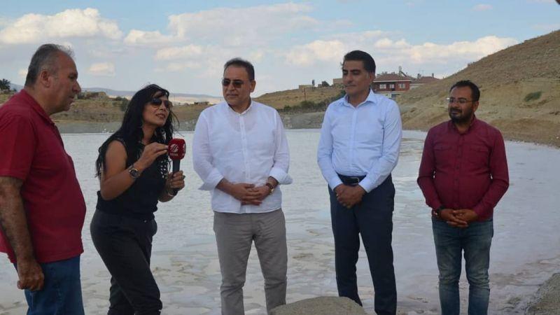 Tuz madeni Beyaz TV'de tanıtıldı
