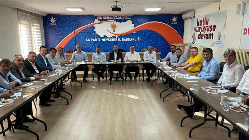 Nevşehir AK Parti birlik mesajı verdi