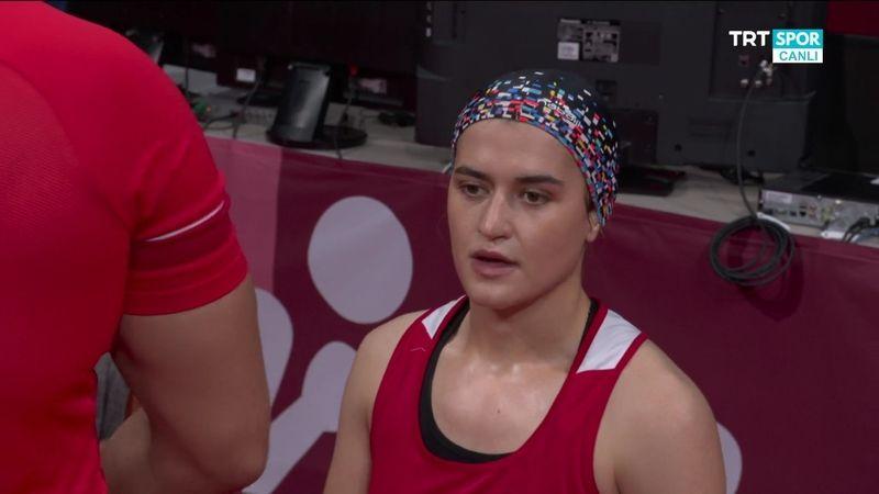 Esra Yıldız, çeyrek finalde olimpiyatlara veda etti