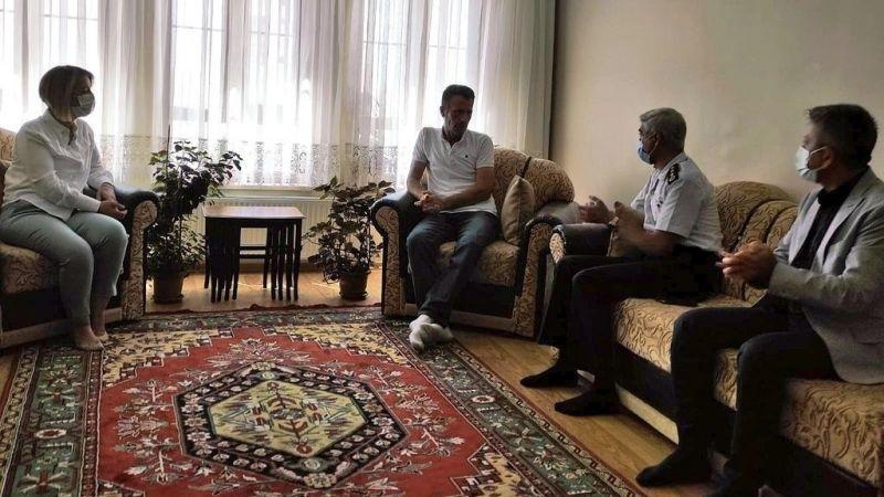 Vali Becel, Gazi ve Şehit ailelerinin isteklerini dinledi