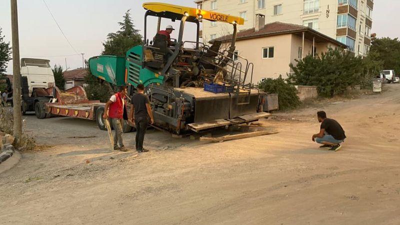 Hacıbektaş'a asfalt serimine başlanıyor