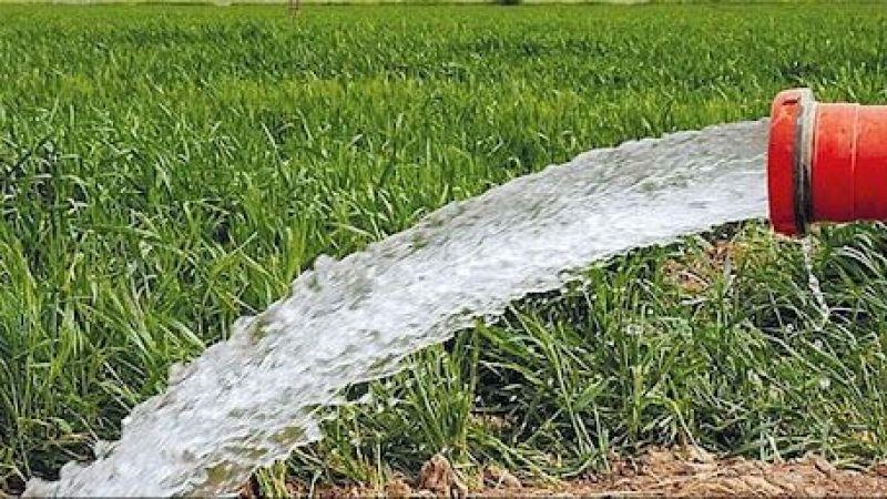 Taşkınpaşa köyüne kapalı sulama sistemi yapılacak