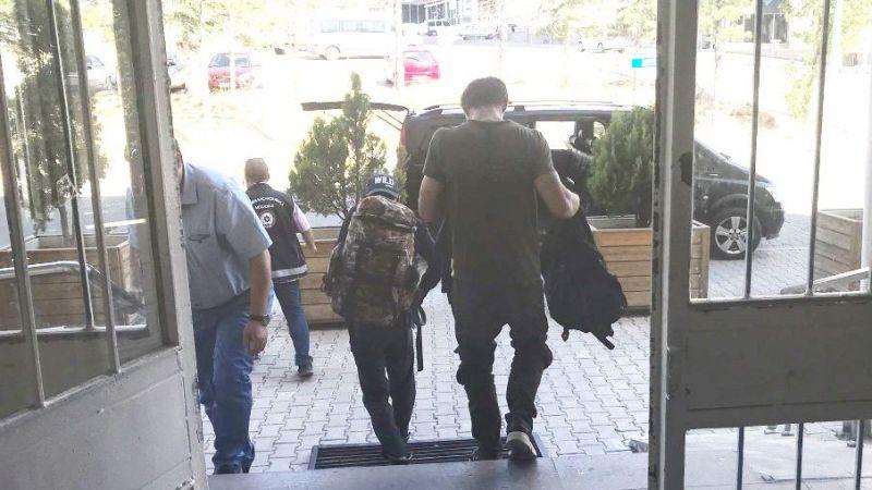 Kaçak göçmenler Nevşehir'de yakalandı
