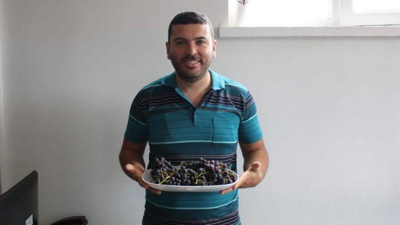 Nevşehir üzümleri olgunlaştı!