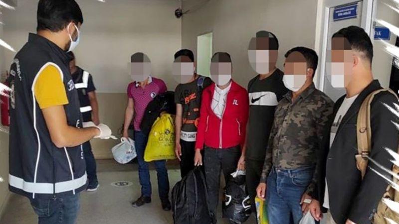 Afgan uyruklu 6 şahıs sınır dışı edildi