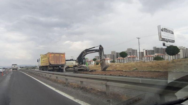 Müjde! Aksaray yolu yapımı başladı