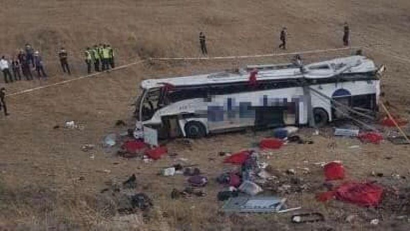 Katliam gibi kaza: 14 ölü, 18 yaralı