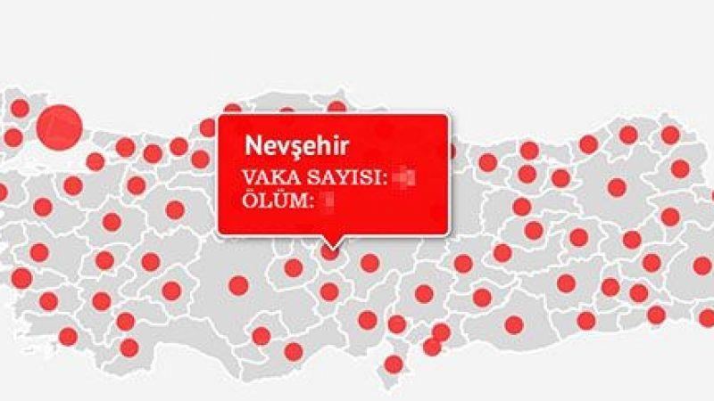 Vakalarda Türkiye düşüyor, Nevşehir artıyor!