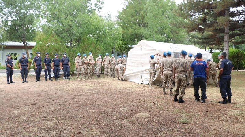 AFAD, Jandarma personeline eğitim verdi