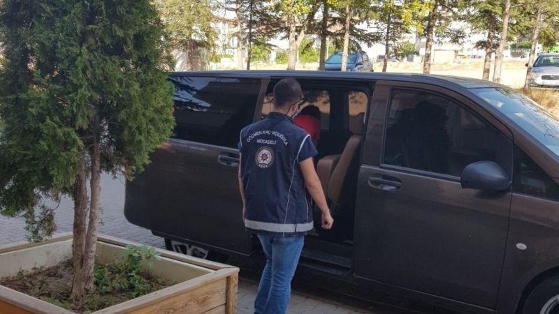 Nevşehir'de 9 kaçak göçmen yakalandı