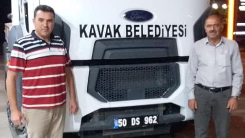 Kavak Belediyesi, Kastamonu'ya yardım eli